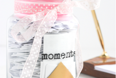 DIY gratitude jar | Homemade gifts, Let someone know how much you mean to them. Or practice daily gratitude