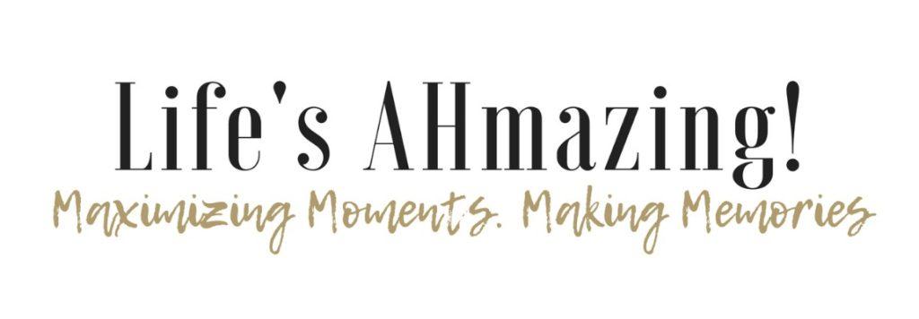 life's ahmazing blog header