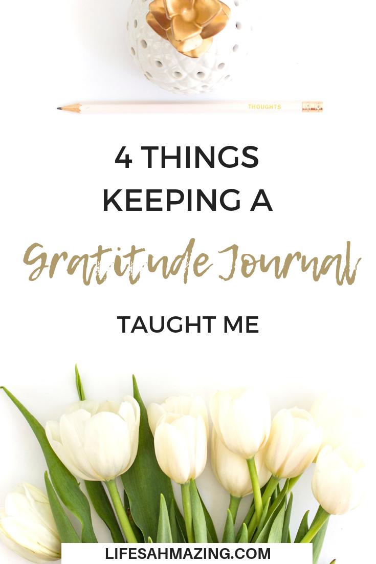 benefits of gratitude journal