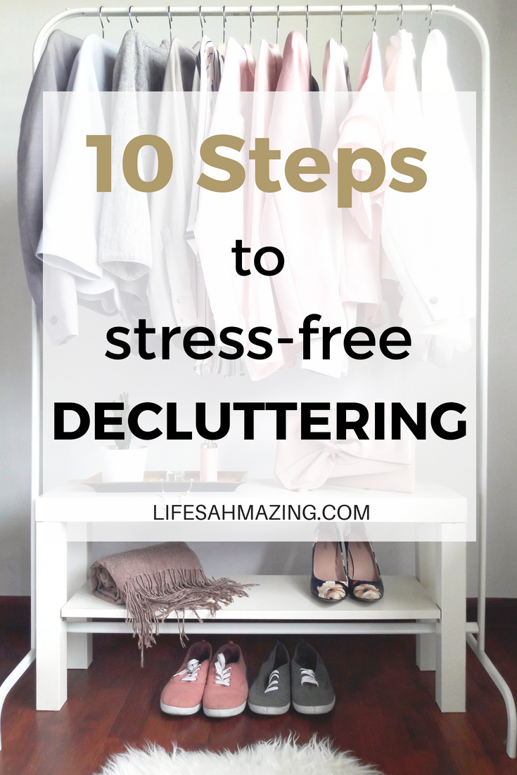 Make decluttering easy with these 10 steps