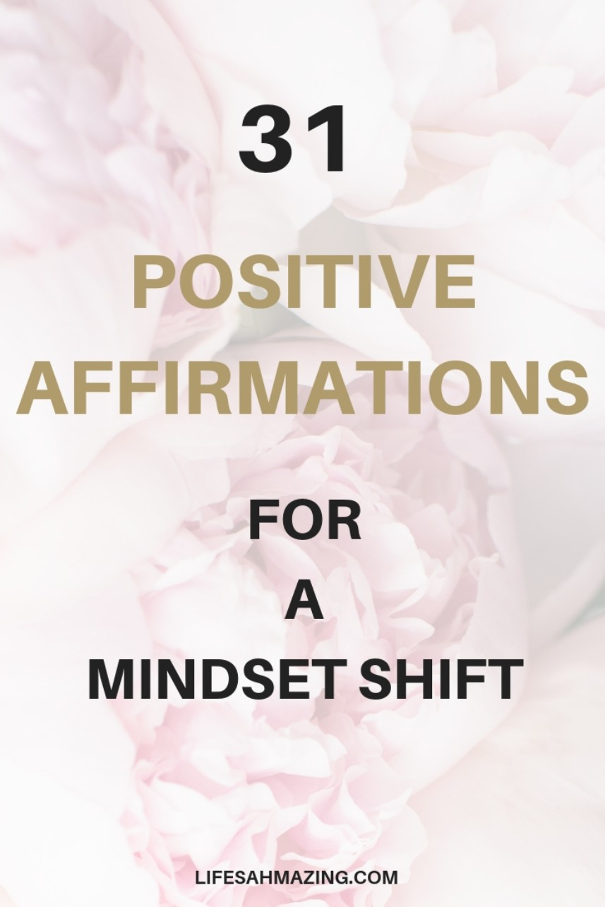 31 positive affirmations to improve your self-image, self-love, self-worth. Positive mindset | Mindset growth | Change your mindset