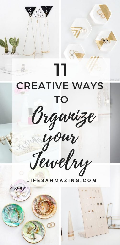 11 Creative and Stylish DIY Jewelry Organizers