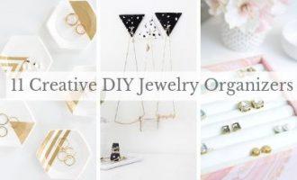 11 Creative and Stylish DIY Jewelry Organizers