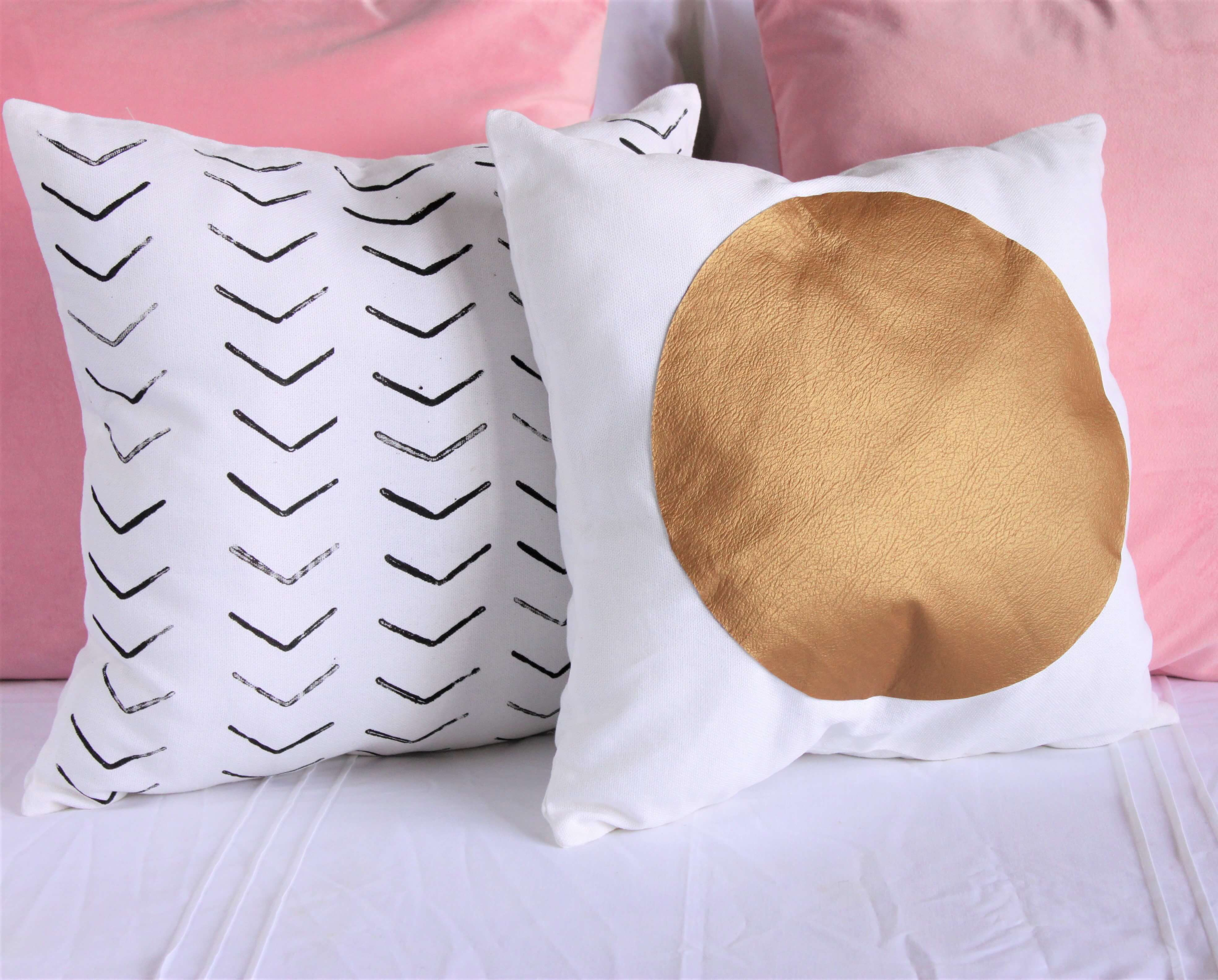 Easy DIY Throw Pillows