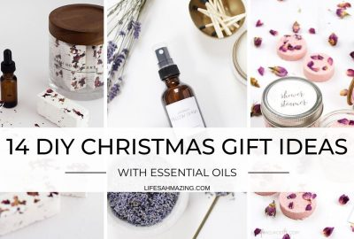 DIY Christmas Gifts with Essential Oils
