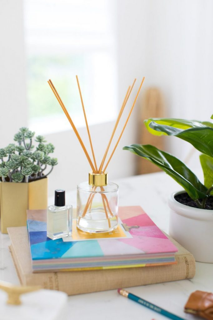 DIY gift idea - Reed diffuser