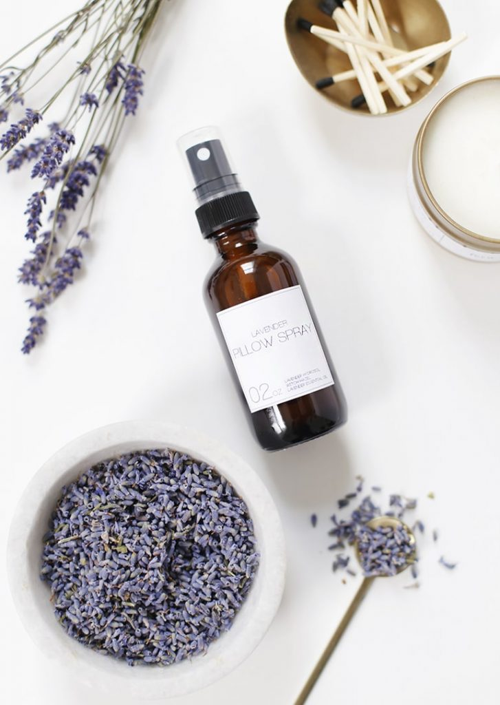 DIY Gift idea - lavender pillow spray