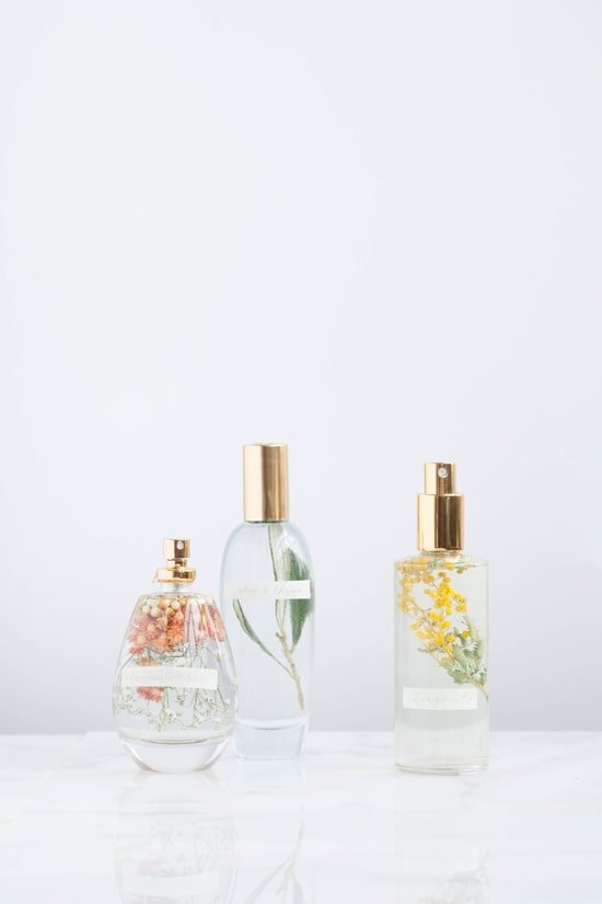 DIY floral room sprays