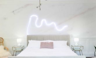 glam bedroom by mr kate - youtube channel to follow