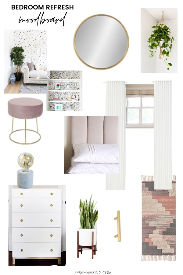 bedroom moodboard